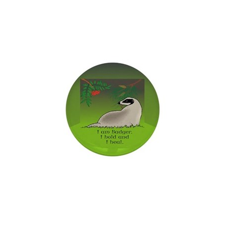 Badger Mini Button (100 pack)