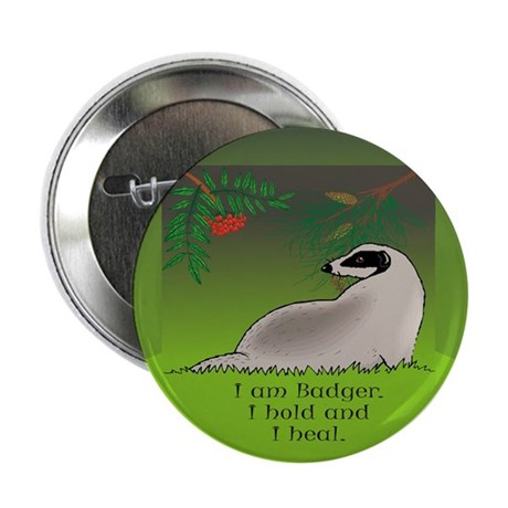 "Badger 2.25"" Button (10 pack)"