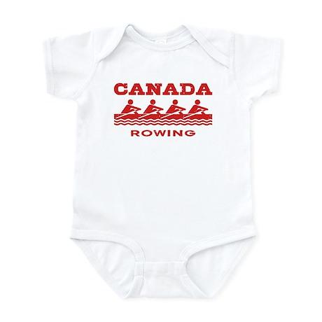 Canada Rowing Infant Bodysuit