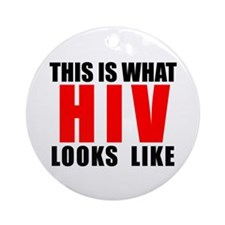 HIV.png Ornament (Round)