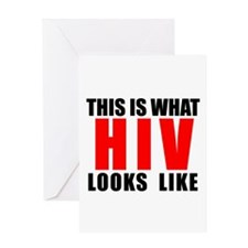 HIV.png Greeting Card