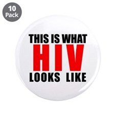 "HIV.png 3.5"" Button (10 pack)"