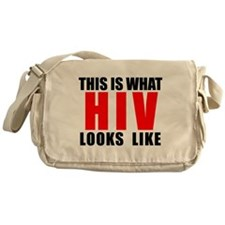 HIV.png Messenger Bag
