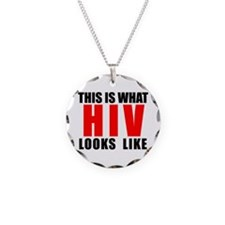 HIV.png Necklace