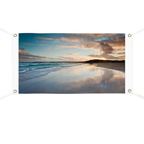 Coastal sunset Australia Banner
