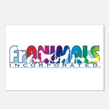 Franimals Postcards (Package of 8)