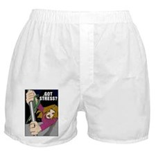 """Got Stress?"" Boxer Shorts"