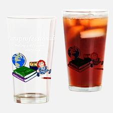 Cute Teacher assistant Drinking Glass