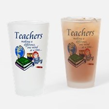 Teachers Making a Difference Drinking Glass