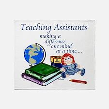 Funny Headstart teachers Throw Blanket