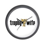 Trophy Wife Wall Clock