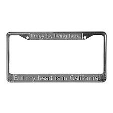 """California"" License Plate Frame"