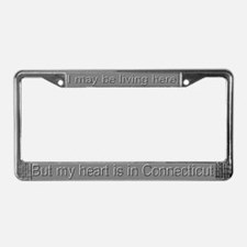 """Connecticut"" License Plate Frame"