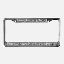 """West Virginia"" License Plate Frame"