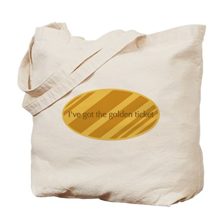 The Golden Ticket Tote Bag