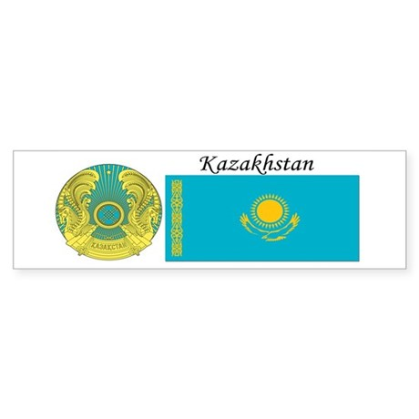 Kazakhstan Sticker (Bumper)