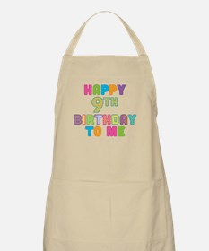 Happy 9th B-Day To Me Apron