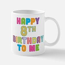 Happy Birthday 8 Mug