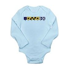Nautical William Long Sleeve Infant Bodysuit