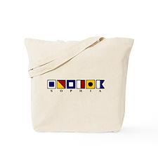 Nautical Sophia Tote Bag