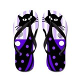 Cat lovers Flip Flops