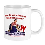 How Do We Clean Up the Bush M Mug