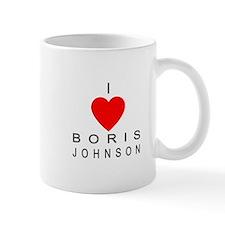I Love Boris Johnson Mug