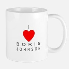 I Love Boris Johnson Mug