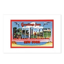Long Island New York Greetings Postcards (Package