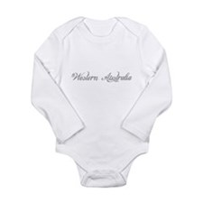 Western Australia Long Sleeve Infant Bodysuit