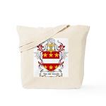Van der Goude Coat of Arms Tote Bag
