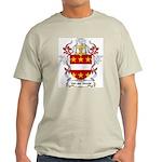Van der Goude Coat of Arms Ash Grey T-Shirt