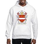 Van der Goude Coat of Arms Hooded Sweatshirt
