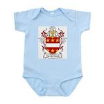 Van der Goude Coat of Arms Infant Creeper