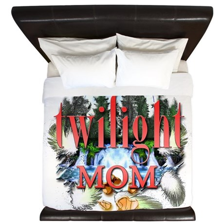 Twilight Mom King Duvet