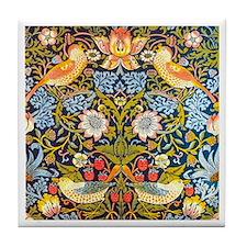 Strawberry Thief, Morris Tile Coaster
