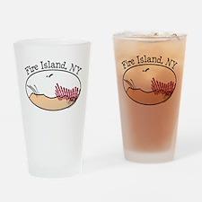 Fire Island Beach Dunes Drinking Glass