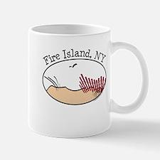 Fire Island Beach Dunes Mug