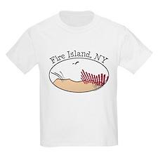 Fire Island Beach Dunes T-Shirt