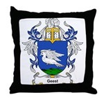 Geest Coat of Arms Throw Pillow