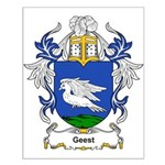 Geest Coat of Arms Small Poster