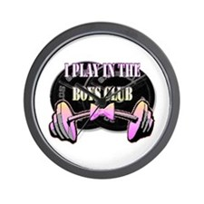 I play in the boys club Wall Clock