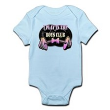 I play in the boys club Infant Bodysuit