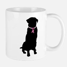 Golden Retriever Breast Cancer Support Mug
