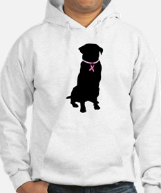 Golden Retriever Breast Cancer Support Hoodie