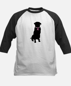 Golden Retriever Breast Cancer Support Tee