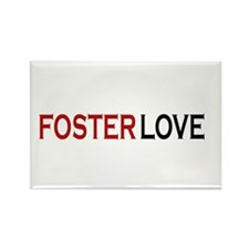 Foster love Rectangle Magnet