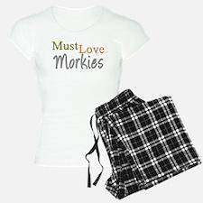 MUST LOVE Morkies Pajamas