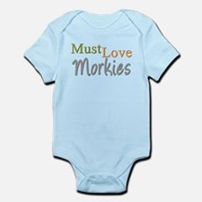 MUST LOVE Morkies Infant Bodysuit
