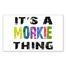 Morkie THING Decal